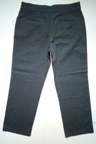 Lee Relaxed Fit at the Waist Womens Size 14 Short Grey Denim Jeans Pants (34x32) image 4