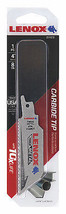 Lazer Reciprocating Saw Blade, Carbide Tipped, 8 TPI, 4-In. - $18.80