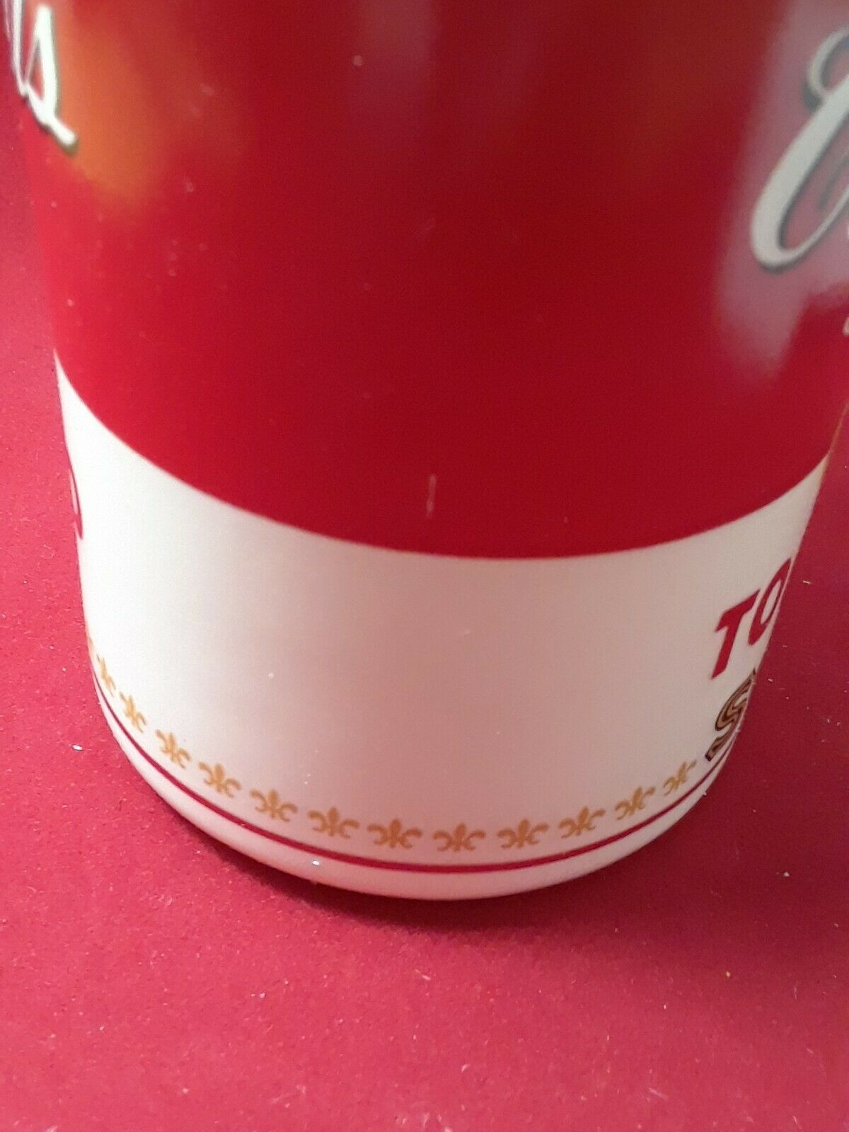 Collectible Campbell's Tomato Soup Mug Cup 8 oz in The Original Styrofoam Mailer image 5