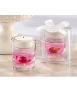 96 Pink Orchid Spring Flower Tea Light Candle Holder Bridal Wedding Favor - €195,38 EUR