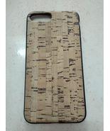 EcoQuote iPhone 7 Plus / 8 Plus Handmade Phone TPU + Soft Case Cork Fini... - $26.00