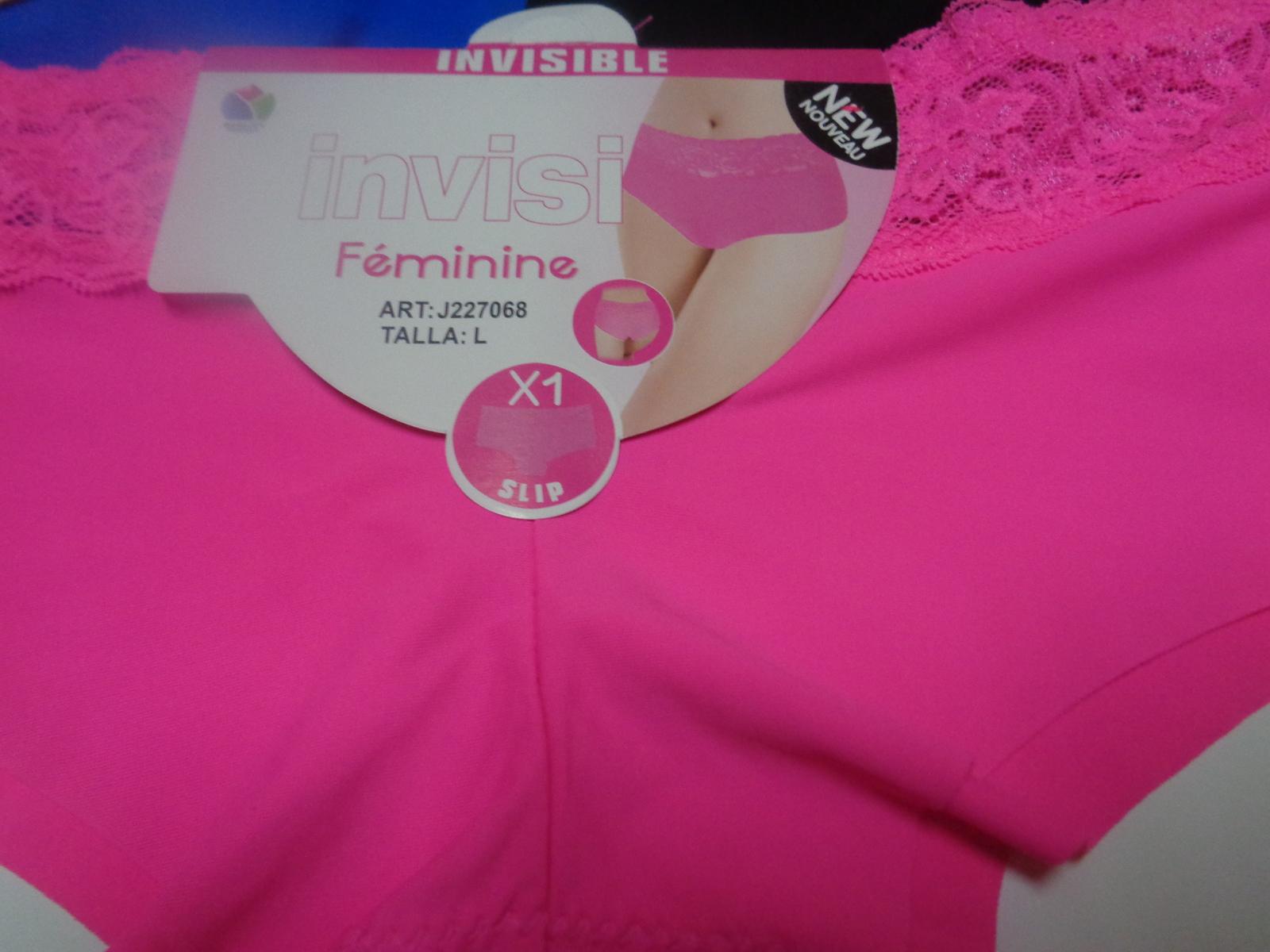 Women's Invisible Line Panties All Colors Set of 5 SZ Large Bikini