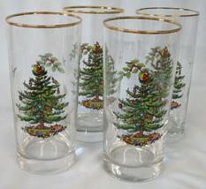Spode Christmas Tree Highball Tumbler Set of 4 - $32.56