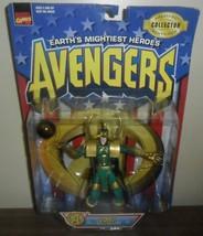 1997 Toy Biz Marvel Comics Avengers Action Figure ~ Loki with Sphere of ... - $14.85