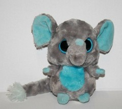 "TINEE ELEPHANT 5"" Aurora Yoohoo & Friends Blue Eye Gray Plush Boing Soft... - $10.65"