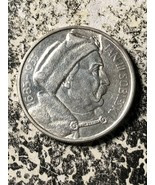 1933 Polonia 10 Zlotych Lotto #Jm689 Argento! Y#23 Jan III Sobleski Very... - $280.18