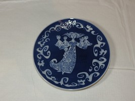 "Royal Copenhagen Mothers Day Mors Dag 1972 Collector Plate decorative 6"" ~ - $14.69"