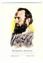 Stonewall Jackson trading card (Confederate Civil War General) 2006 Topp... - $4.00