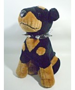 Doberman Pinscher LARGE Rottweiler Rotty Puppy Dog Plush Spike Toy Netwo... - $37.05