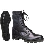"Black Jungle Boots Military 8"" Tactical Boots - $34.99"