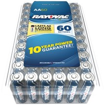 Rayovac Alkaline Batteries Reclosable Pro Pack (aa, 60 Pk) RVC81560PPF - $46.98