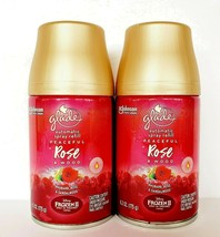 2X Glade Peaceful Rose & Wood Automatic Spray Refill 6.2 Oz Limited Edition - $23.70