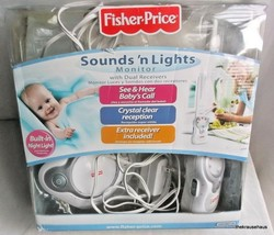 Fisher-Price Sounds 'N Lights Baby Monitor with 1 receiver Missing 2nd r... - $13.17