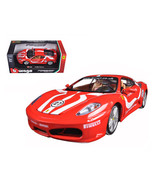Ferrari F430 Fiorano #27 Red 1/24 Diecast Model Car by Bburago 26009r - $37.82