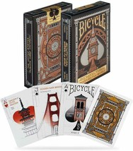 1 Deck Bicycle Architectural Wonders World Standard Poker Playing Cards New Box - $8.69