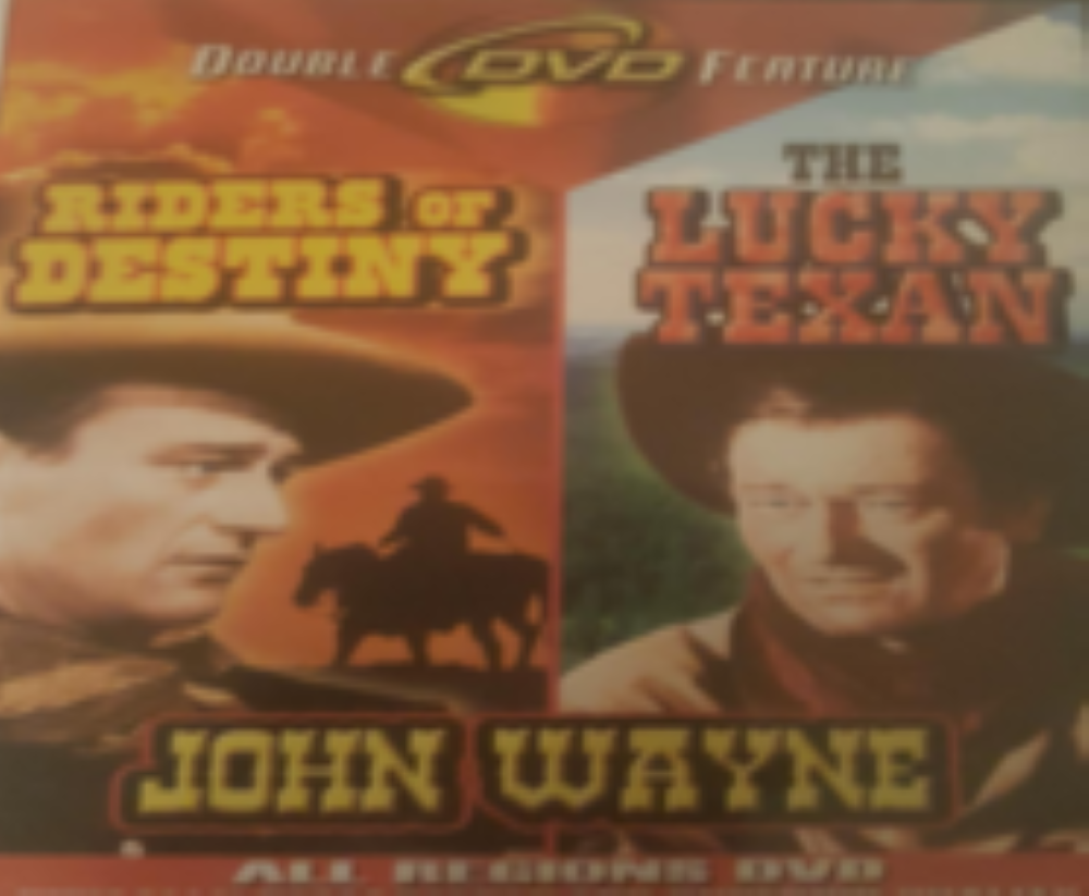 John Wayne - Riders of Destiny - The Lucky Texan Dvd