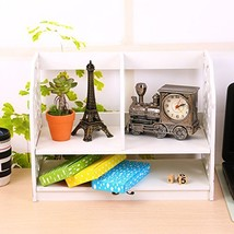 Jerry & Maggie - Desk Organizer 2-tier WPC (Shelf-raisedbase | White) - €22,24 EUR