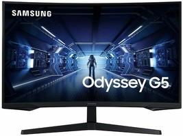 New SAMSUNG 32-Inch WQHD G5 Odyssey Gaming Monitor 1000R Curve LC32G55TQ... - $544.50