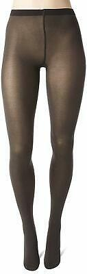 Wolford ANTHRACITE Cotton Velvet 80 Denier Tights, US Small