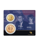 2015 US Mint John F. Kennedy Presidential $1 Dollar Coin & 1st Spouse Me... - $22.69
