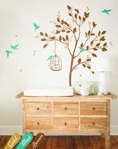 Nursery Tree Wall decal wall stickers, Baby Room tree wall decoration - KW002 - $74.26