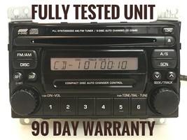 """""""SUZ012""""Suzuki Grand Vitara Aerio XL7 RADIO 6 CDs Changer PS-2533D, 3910... - $94.05"""