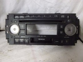 05-09 CHRYSLER DODGE Radio 6 Disc CD cassette Face Plate P05091523AK RZ222 - $15.25