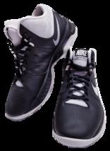 Nike Air Visi Pro 6 Men's Size 9 Black White Basketball Shoes 749169-002 - $29.99