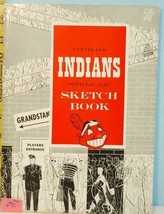 1950 Cleveland Indians Baseball Official Sketch Book Yahoo (WGBL) - $44.55