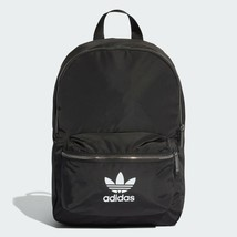 Adidas Originals Nylon Backpack Casual Bag Unisex Backpack School Black ... - $41.81