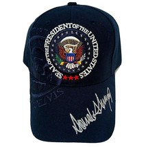 MAGA 45th President Donald Trump Seal Make America Great Again Hat Navy ... - $14.35