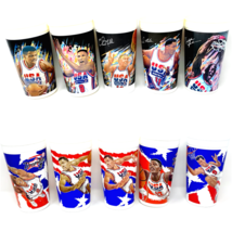 Vintage McDonalds Cups Lot of 10 Cups 1992 1994 Olympics Dream Team Basketball - $24.72