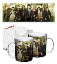 Once Upon A Time Core Cast in Green Forest 11 oz Ceramic Coffee Mug NEW ... - $6.89