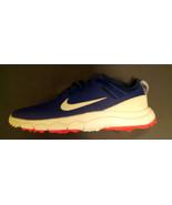 Women's NIKE FI IMPACT 2 Golf Shoes 776093-400 Deep Royal Blue White Size 7 - $45.00