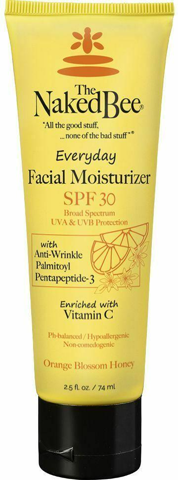 The Naked Bee Facial Moisturizer Everyday SPF 30 2.5 oz Anti Wrinkle Vitamin C image 3