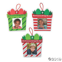 His Presence Brings Joy Picture Frame Ornament Craft Kit - 48 Pc. - $44.00