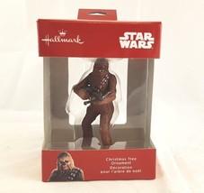 Hallmark Ornament Red Box Star Wars Chewbacca NIB New  - $14.02