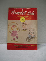 Vogart Campbell's Kids Transfer Patterns 4102  Used For Embroidery/Painting - $9.99