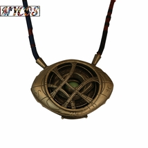 Doctor Strange Necklace Eye of Agamotto Necklace Eyes Can Open Cosplay P... - $29.00