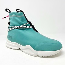 John Geiger 002 x E11Even Made in USA Miami Teal Pink White Mens Size 11 - $449.95