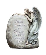 """Napco Forever in Our Hearts Memorial Angel Garden Statue, 11"""" - $52.75"""