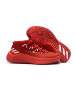 Men's DAME 4 Shoes Damian Lillard Red Basketball Shoe - $85.99