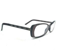 Gucci GG3002 QZH Sunglasses Eyeglasses Frames Cat Eye Brown Rhinestones 135 - $149.59