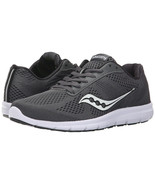 Saucony Women's Grid Ideal Running Shoes,S15269-1, Gray\White, Size US 6.5 - $39.59