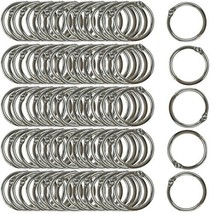 Clipco Book Rings Small 1-Inch Nickel Plated Metal 100-Pack - $12.80