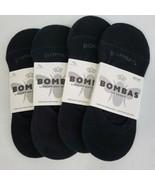 NO SHOW Bombas Socks 4 PACK Socks -  Medium Black Brand New - $31.67