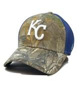 Kansas City Royals New Era Neo 39THIRTY Realtree Camo Flex MLB Baseball Hat - $22.75
