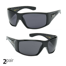 a80c0d296d Large OG Real Locs Sunglasses Dark Gangster Shades Mens Loc Glasses Black -   8.99