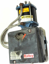 BAILEY AV1121040 PNEUMATIC POSITIONER WITH DEZURIK 9454201 PowerRAC CYLINDER