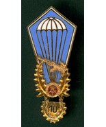 TYPE III, DDR, PARA WING, EAST GERMANY, WITH #10 JUMP HANGER, B&T 744 - $34.65